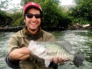 Fahad fishing somewhere in Texas
