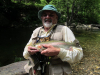 RogerD and a very nice Rainbow Trout